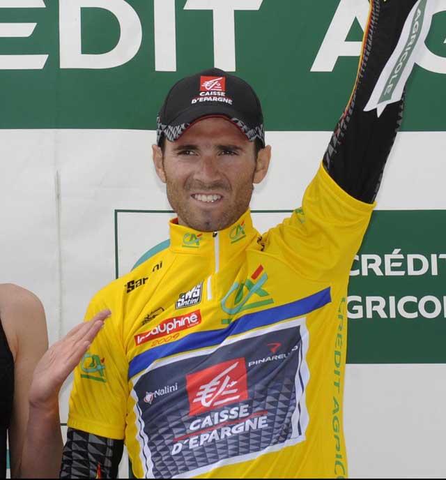 Alejandro Valverde Dauphine Libere 2009 stage 5