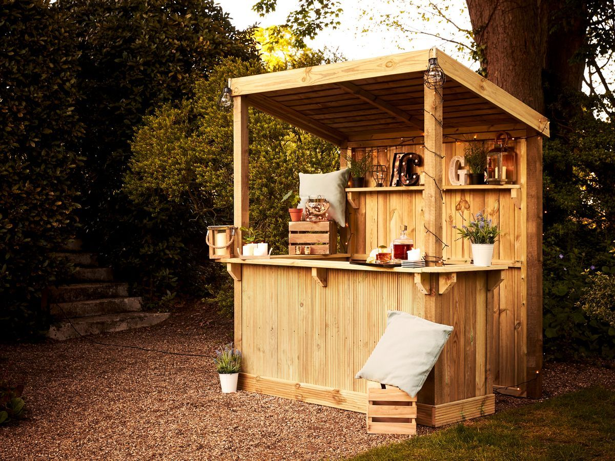 Wickes are selling a build-your-own outdoor bar and it's ...