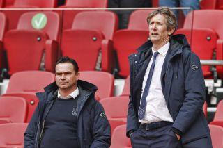 Ajax CEO Edwin van der Sar