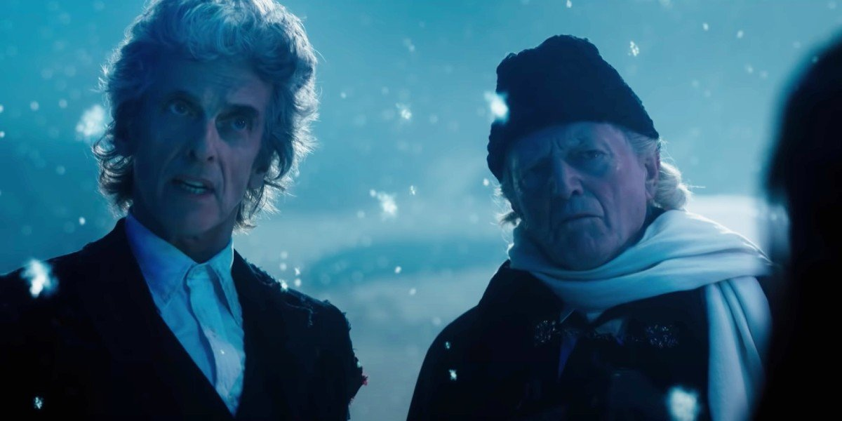 The Twelfth Doctor and the First Doctor Doctor Who BBC America
