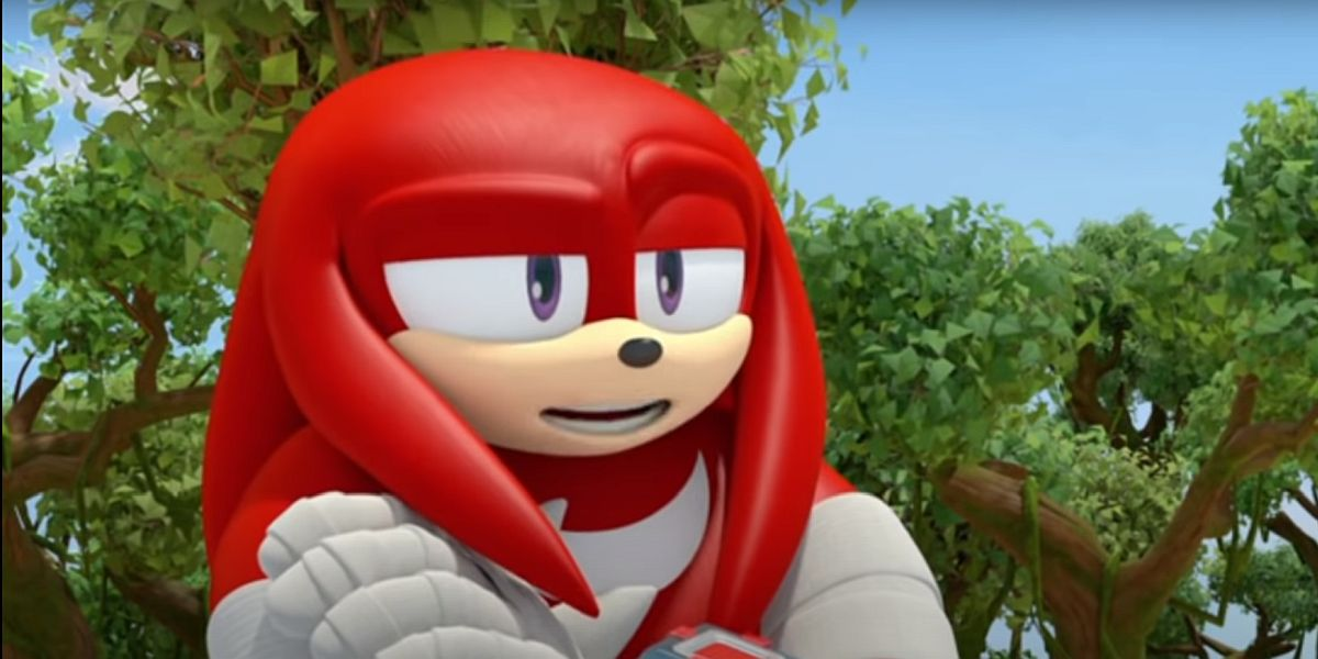 Knuckles from Sonic the Hedgehog in Sonic Boom