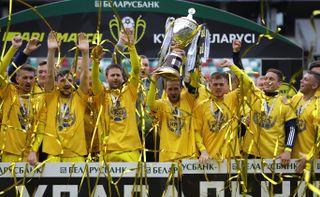 Virus Outbreak Belarus Soccer Cup