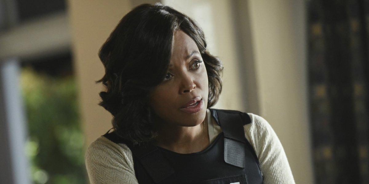 Aisha Tyler as Dr. Tara Lewis on Criminal Minds