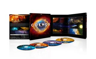 """Cosmos: A Spacetime Odyssey"" DVD & Blu-Ray Set"