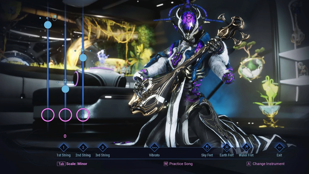 You can now be a Guitar Hero in Warframe