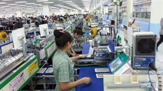 Samsung-Montageband in Vietnam