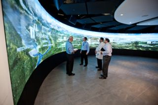 GE Customer Experience Center, Prysm Video Wall
