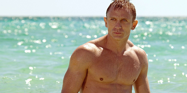 daniel craig as a sex symbol in casino royale