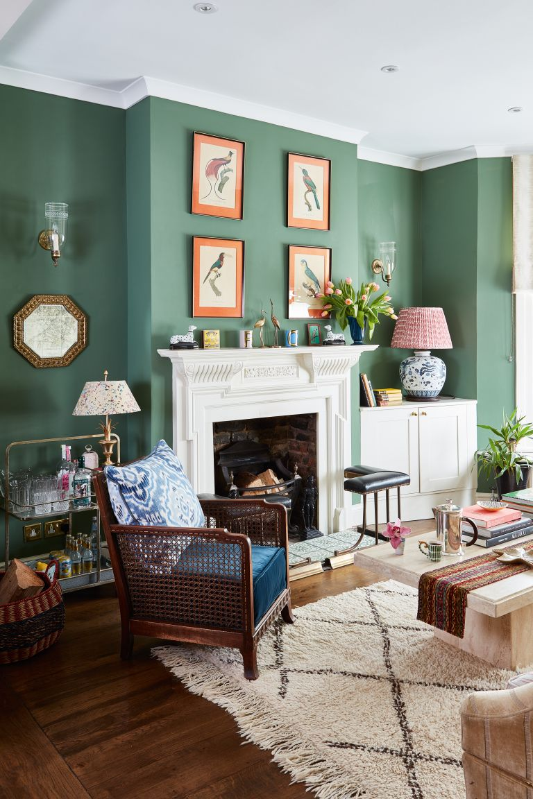 4 green living room ideas – pretty ways to use this stylish shade