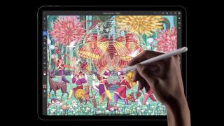 iPad Pro 2021 Apple Pencil drawing