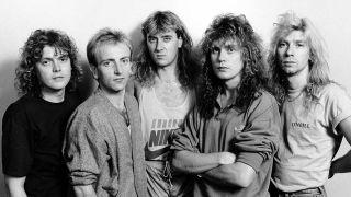 Def Leppard in 1987