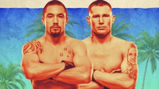 UFC Whittaker vs. Till Fight Island Promotional Picture