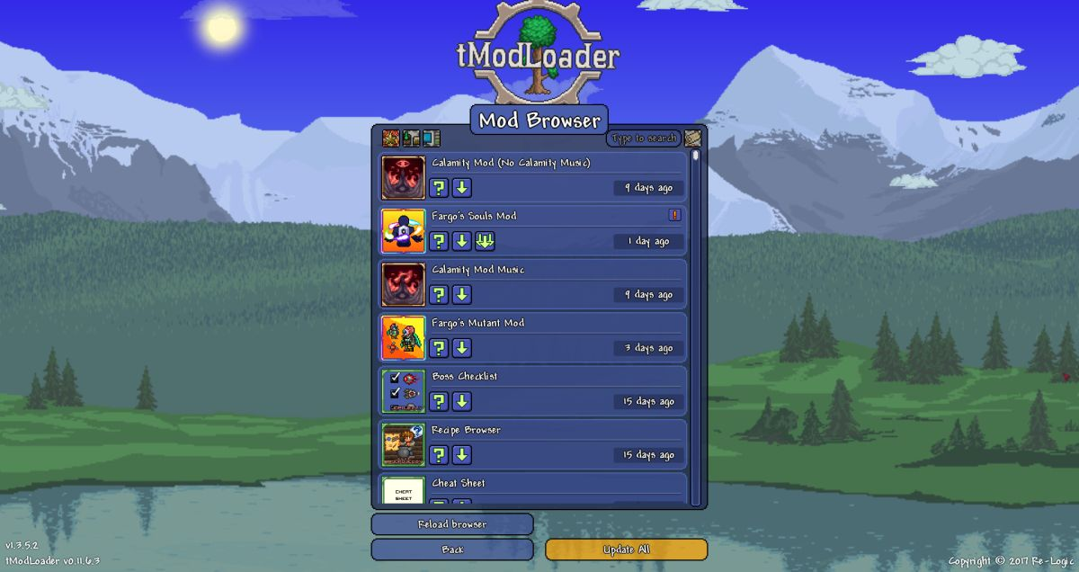 Terraria's mod loader is now on Steam as Re-Logic 'hand the keys over to the fans'