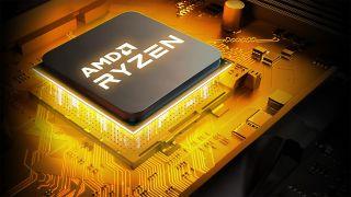 AMD CPU in AM4 socket