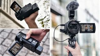 Sony FDR-AX43 4K Handycam launched in India