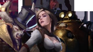A minotaur, a corsair, and an automaton
