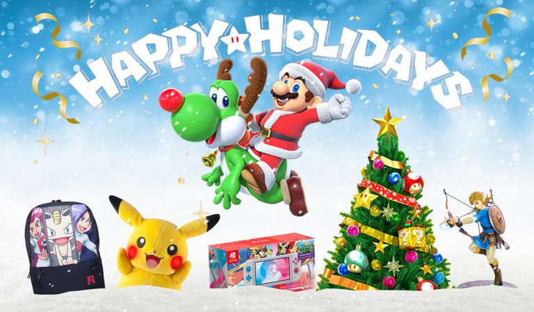 Nintendo deals Christmas Xmas Mario Pikachu Pokemon Gifts