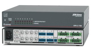 Extron Electronics has introduced the XPA U 758, an eight-channel half-rack amplifier.