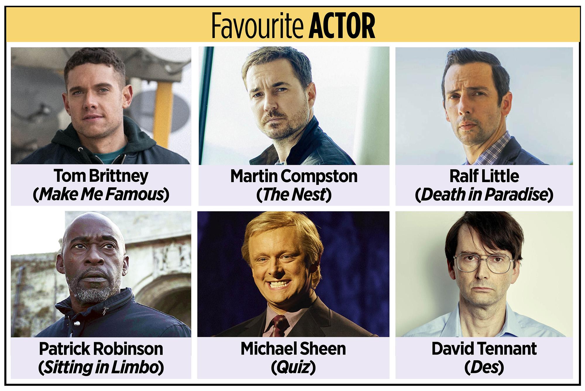 Actor favorito de los TV Times Awards 2020