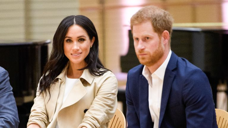 Prince Harry and Meghan Markle watch a rehearsal of Spirit 2018 by the Bangarra Dance Theatre