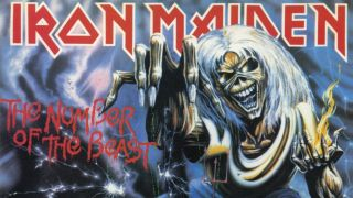 The album cover for Iron Maiden's 1982 release The Number Of The Beast