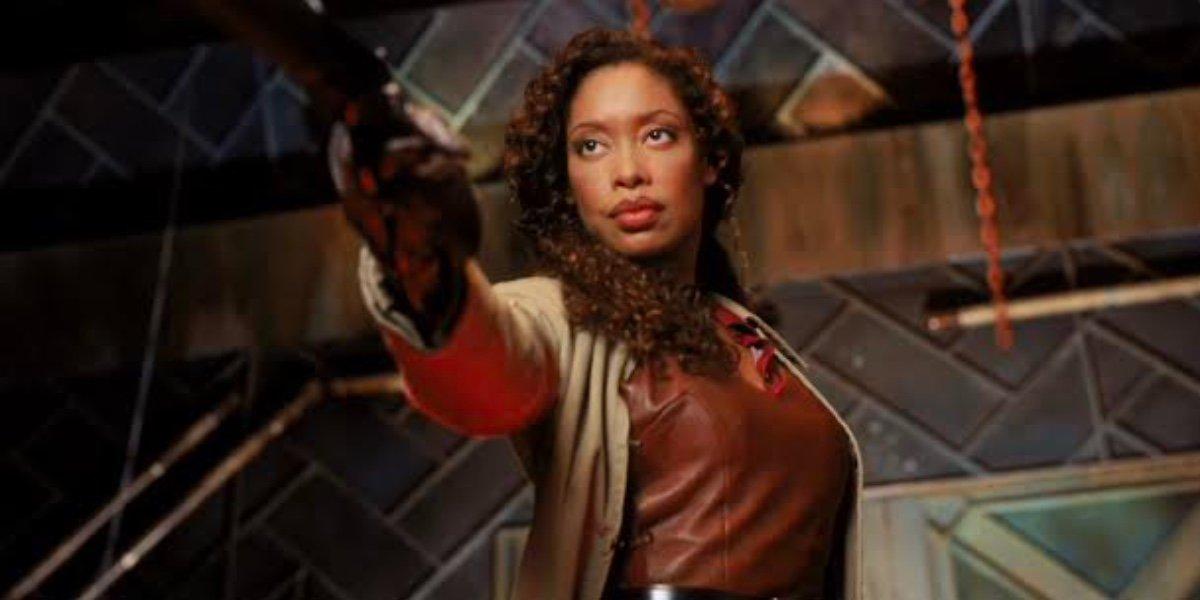 Gina Torres Zoë Washburne in Firefly.