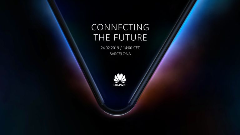 Huawei 5G folding phone