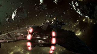 A Klingon Starship in 'Star Trek: Prelude to Axanar'