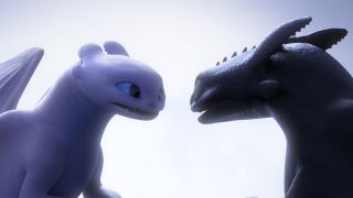 Light Fury, meet Night Fury in How to Train Your Dragon: The Hidden World