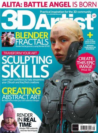 3D artist cover