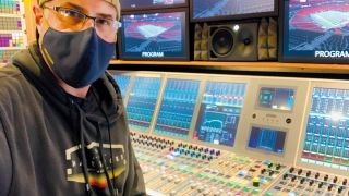 Greg Briggs audio mixing