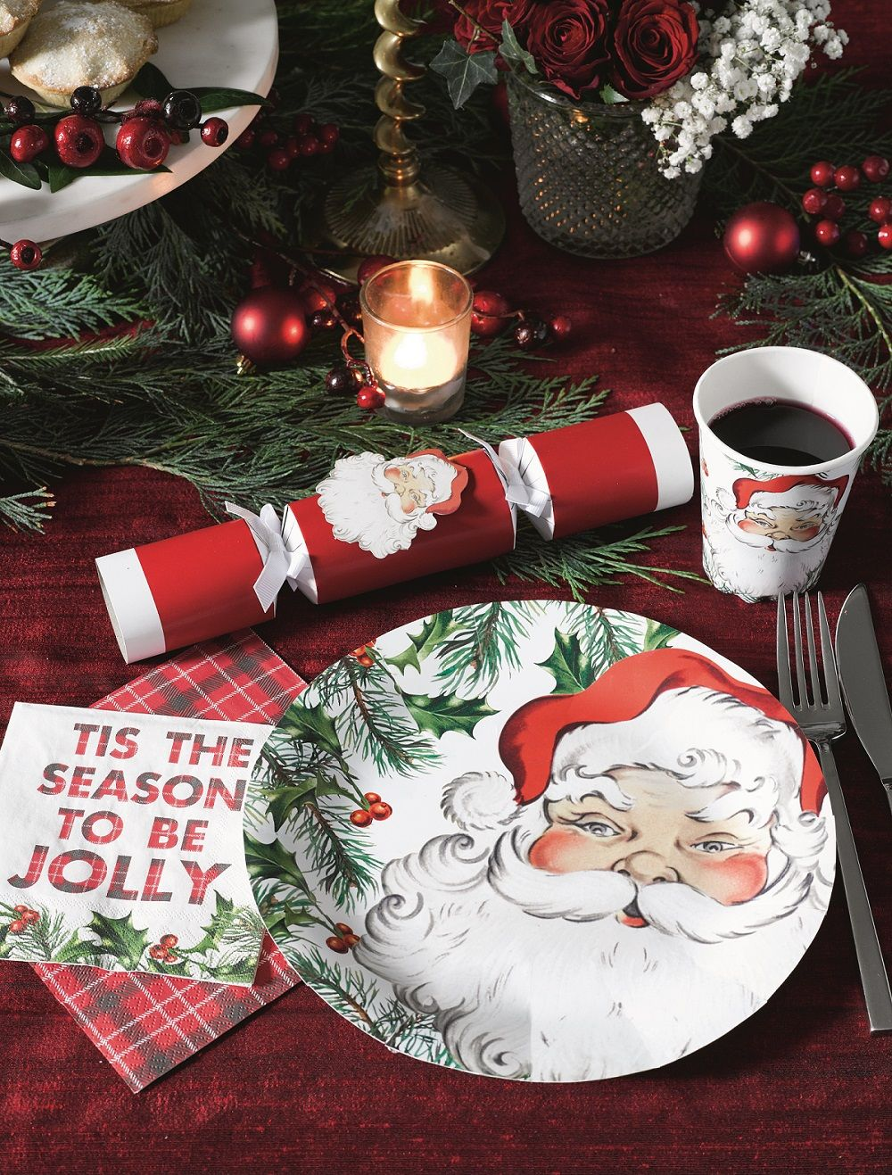 """Image result for photos of  christmas  table decorations"""""""