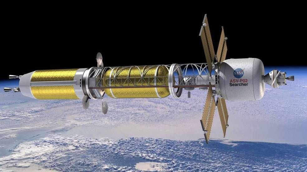 NASA, DOE fund three nuclear thermal space propulsion concepts