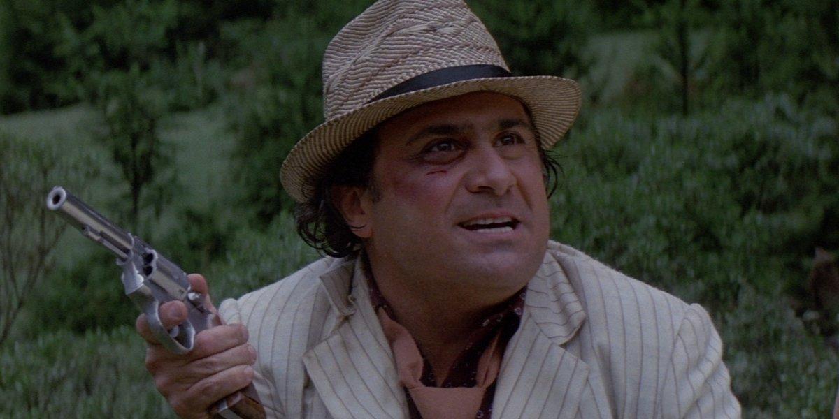 Potential Indiana Jones movie character Sallah Danny DeVito in Romancing the Stone