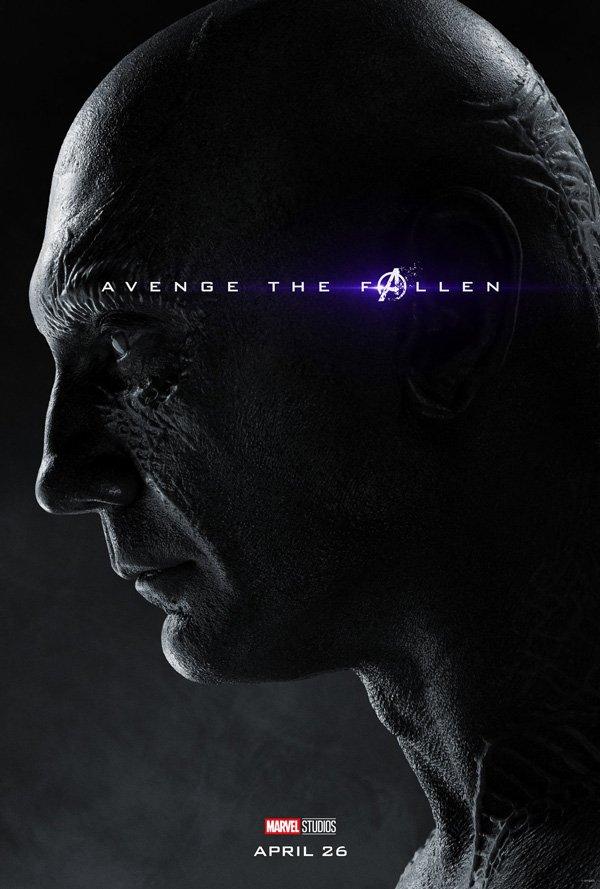 Drax the Destroyer in Avengers: Endgame