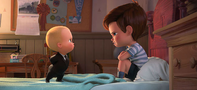 Boss Baby Alec Baldwin confronts his older brother
