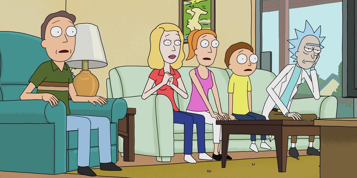 Rick and Morty Adult Swim