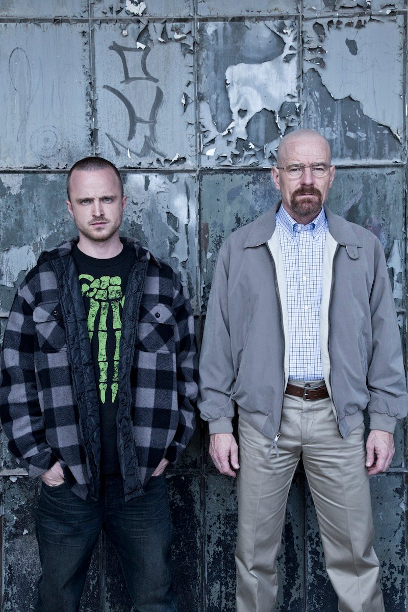 Breaking Bad Season 5 Photos Show The Cast And Walter White's Partner Relationships #22562