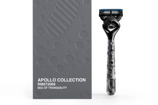 Gillette Apollo Collection Razor Inspired by First Moon Landing Mission