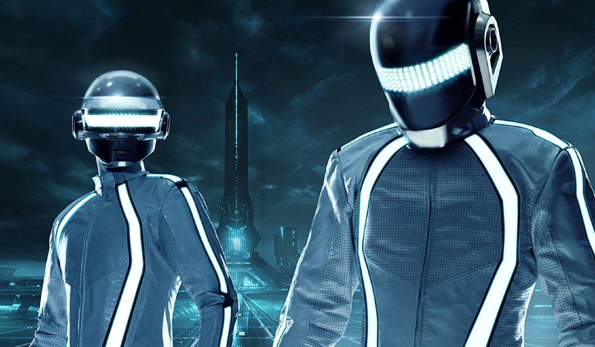 Tron Legacy Daft Punk DJ on The Grid