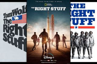 "National Geographic's ""The Right Stuff"" on Disney+ is based on the previous works of the same title, including journalist Tom Wolfe's 1979 best-selling book and director Philip Kaufman's 1983 feature film."