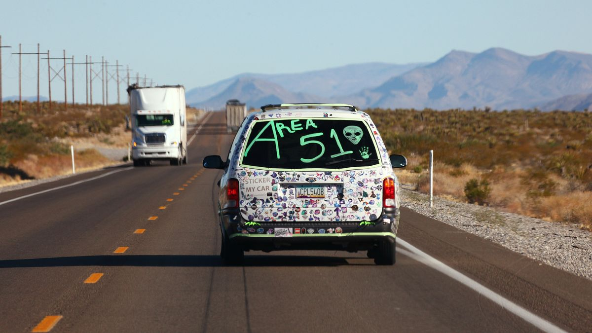 Siege of top-secret Area 51 began as a joke. Officials prepared to use deadly force in response.