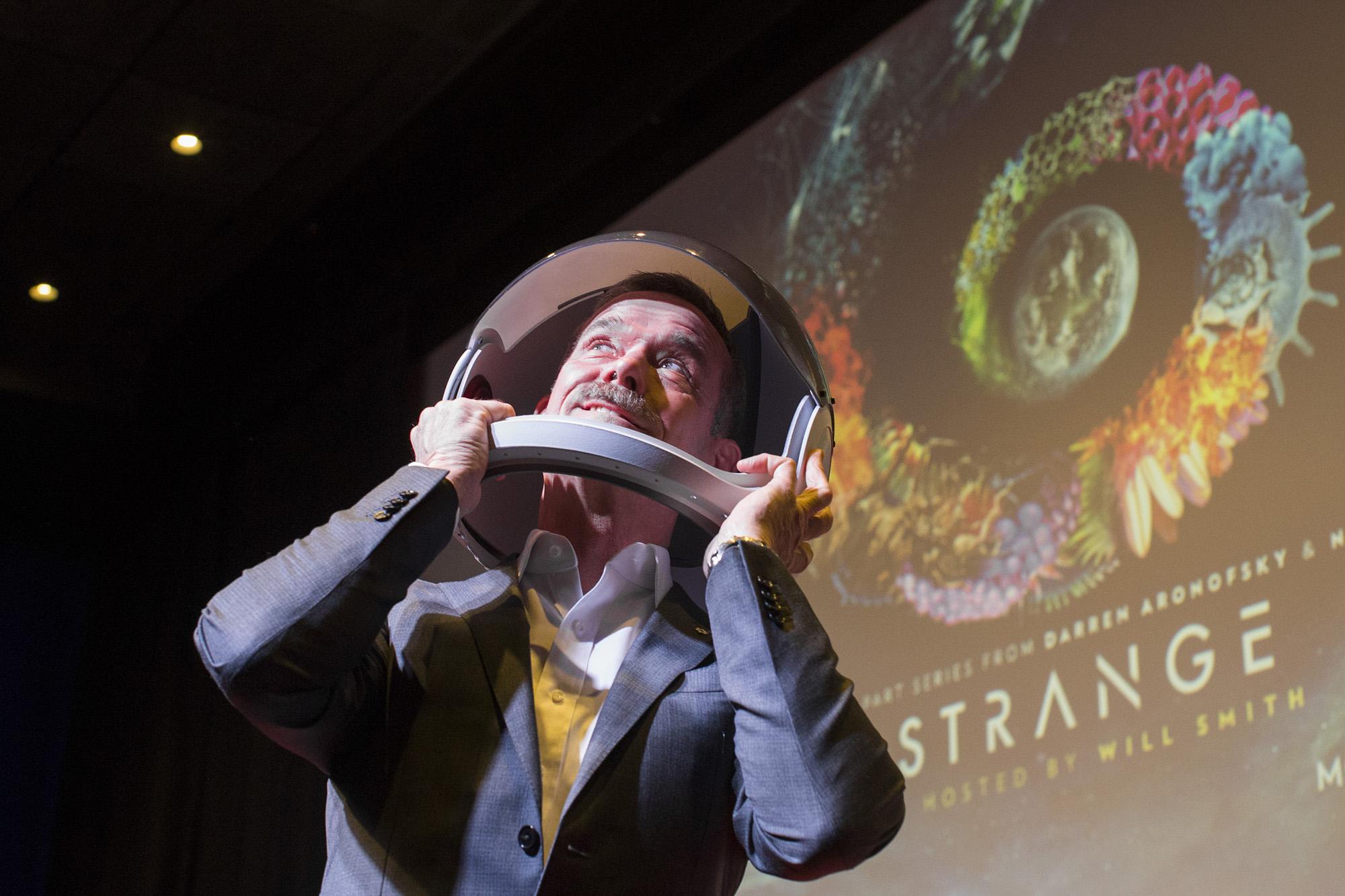 Earth Stars in Nat Geo Channel's 'One Strange Rock' Premiere