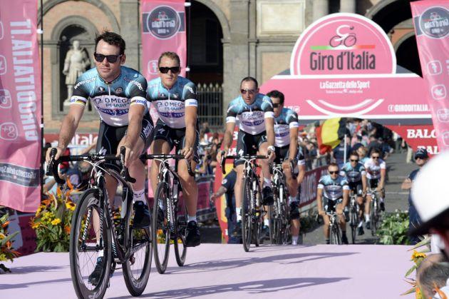 Mark Cavendish, Giro d'Italia 2013 team presentation