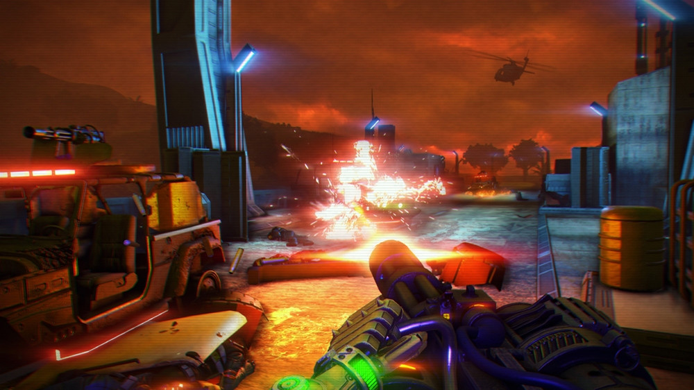Far Cry 3 Blood Dragon Screenshots, Trailer Are A Beautiful Mess #26265