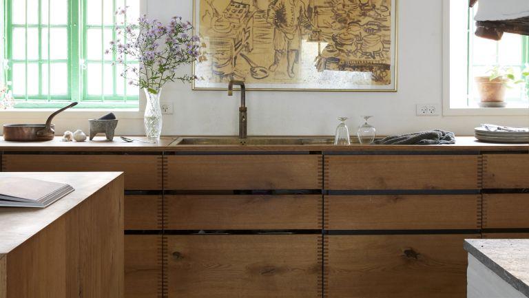 All-wood kitchen trend