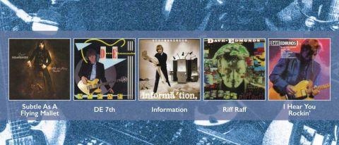 Dave Edmunds: 5 Originals album cover