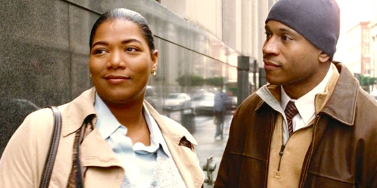 Queen Latifah and LL Cool J in Last Holiday
