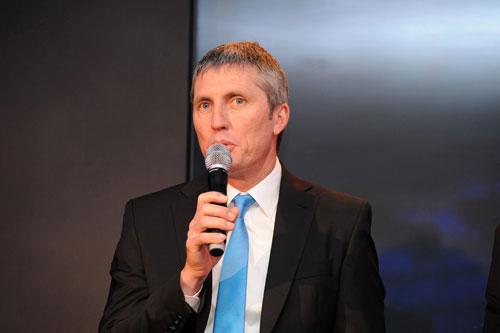 Scott Sunderland, Team Sky 2010 launch