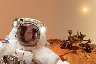 What makes more sense: Sending a human or a robot to Mars?